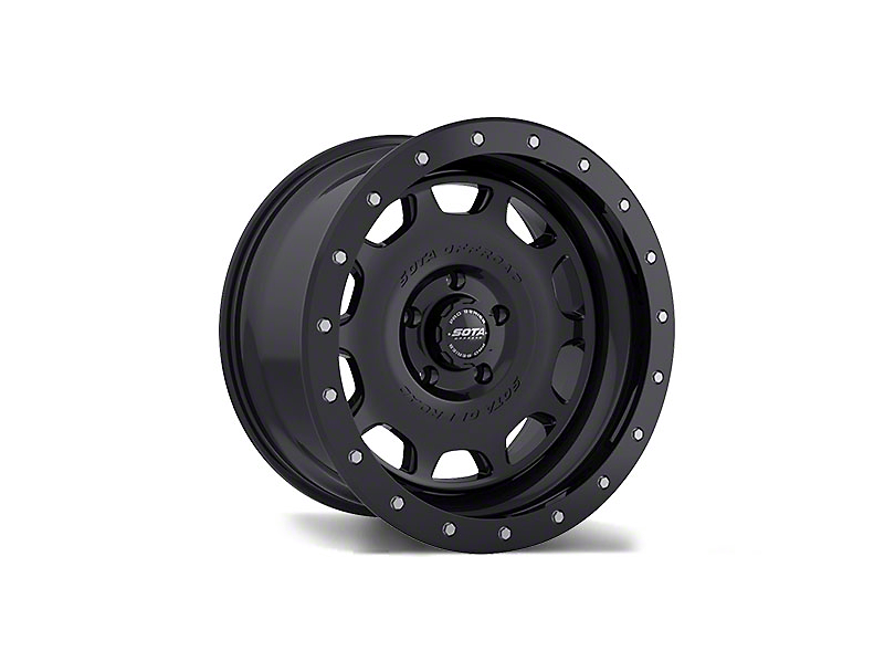 SOTA Off Road D.R.T. Stealth Black 6-Lug Wheel - 17x8.5 (99-19 Silverado 1500)
