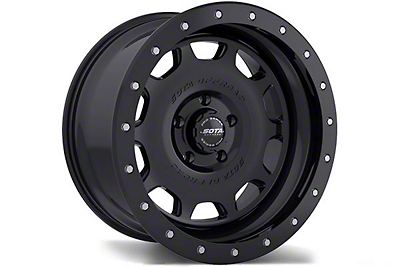 SOTA Off Road D.R.T. Stealth Black 6-Lug Wheel - 17x8.5 (99-18 Silverado 1500)