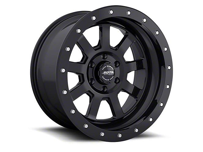 SOTA Off Road S.S.D. Stealth Black 6-Lug Wheel - 20x10 (99-18 Silverado 1500)
