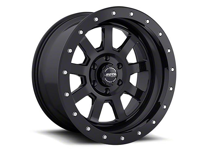 SOTA Off Road S.S.D. Stealth Black 6-Lug Wheel - 20x9 (99-18 Silverado 1500)