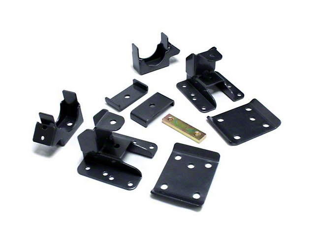 Max Trac Adjustable Rear Flip Lowering Kit - 5-6 in. (07-18 Silverado 1500)