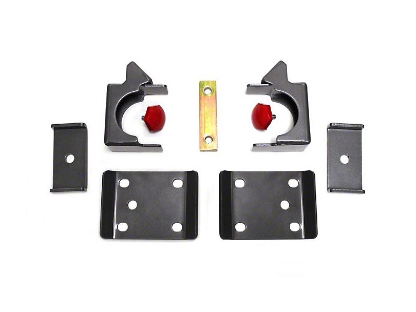 Max Trac Rear Flip Lowering Kit - 7.5 in. (07-18 Silverado 1500)