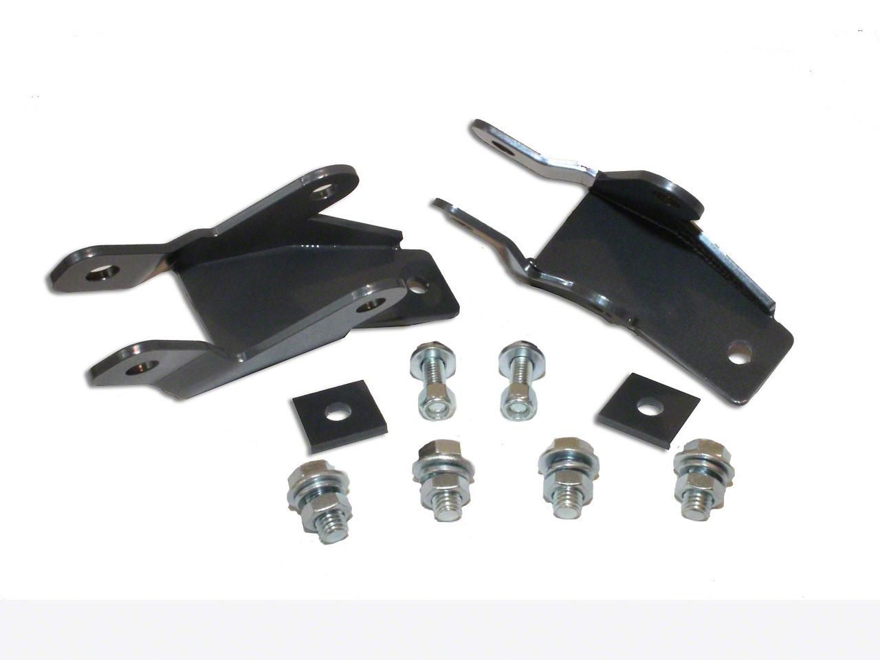 Max Trac Rear Shock Extenders for 4-7 in. Flip Kit (07-18 Silverado 1500)