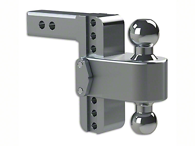 Weigh Safe 2 in. Receiver Hitch 180 Degree Adjustable Ball Mount - 8 in. Drop Hitch (99-18 Silverado 1500)