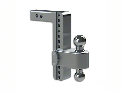 Weigh Safe 2 in. Receiver Hitch 180 Degree Adjustable Ball Mount - 10 in. Drop Hitch (99-18 Silverado 1500)