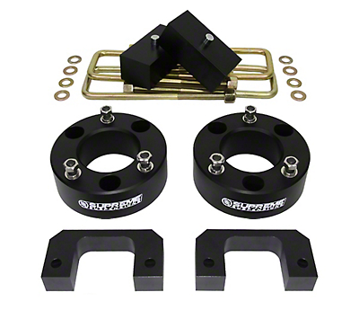 Supreme Suspensions 3.5 in. Front / 2 in. Rear Pro Lift Kit (07-18 Silverado 1500)