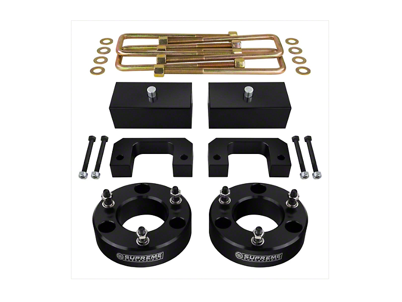 Supreme Suspensions 3.5 in. Front / 3 in. Rear Pro Lift Kit (07-18 Silverado 1500)