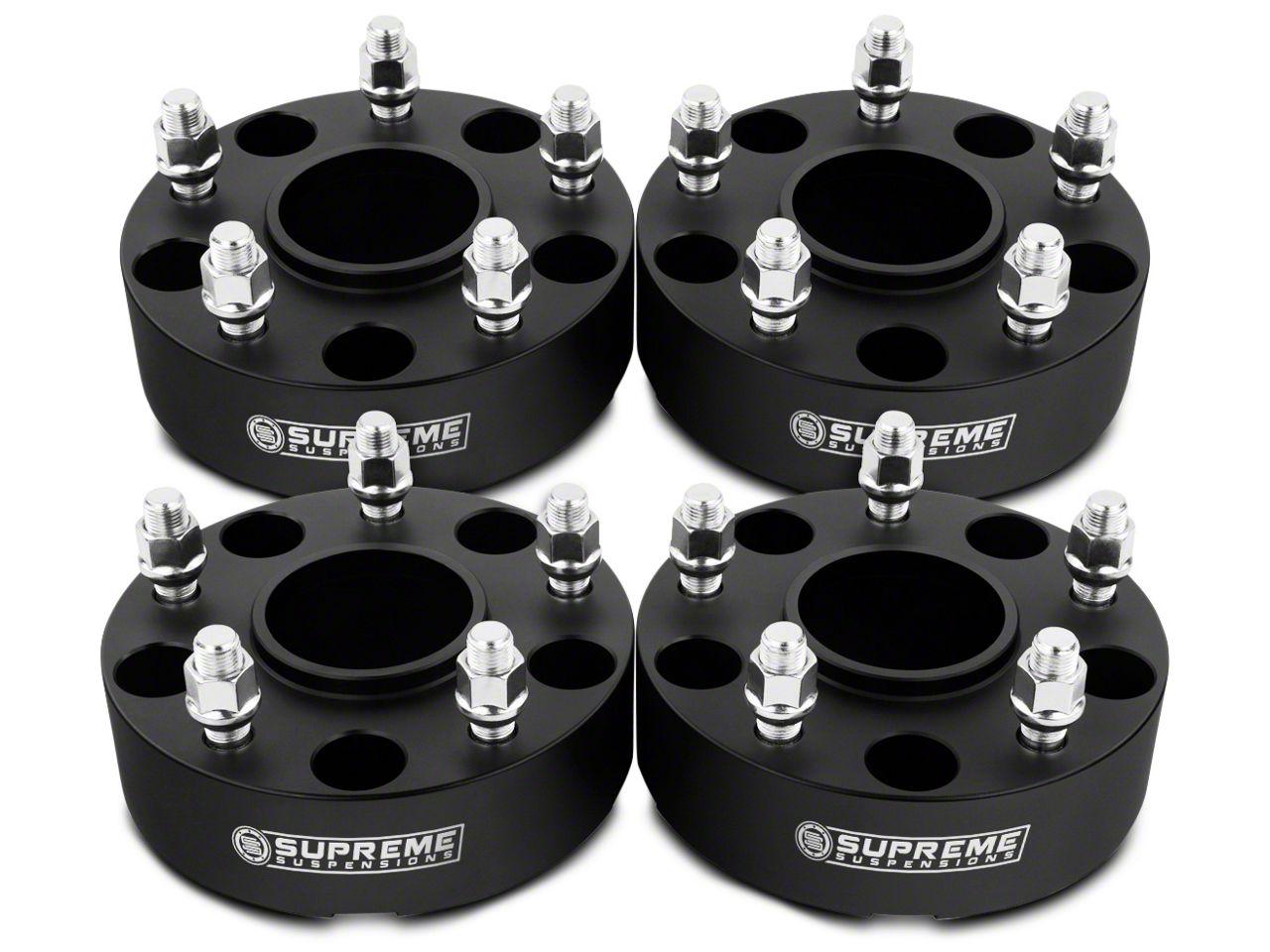 Supreme Suspensions 2 in. Lug Centric Wheel Spacers - Set of Four (99-18 Silverado 1500)