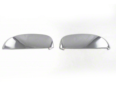 Black Horse Off Road Upper Mirror Covers - Chrome (07-13 Silverado 1500)