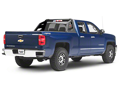Black Horse Off Road Armour Roll Bar - Black (07-18 Silverado 1500)