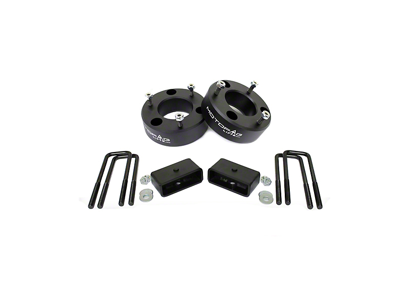 MotoFab 3 in. Front / 1 in. Rear Leveling Kit (07-18 Silverado 1500)