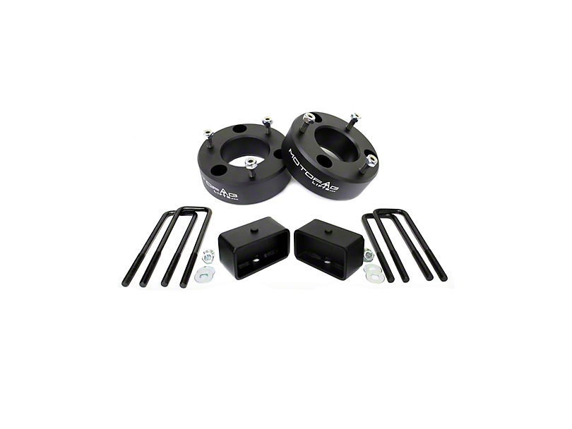 MotoFab 3 in. Front / 2 in. Rear Leveling Kit (07-18 Silverado 1500)