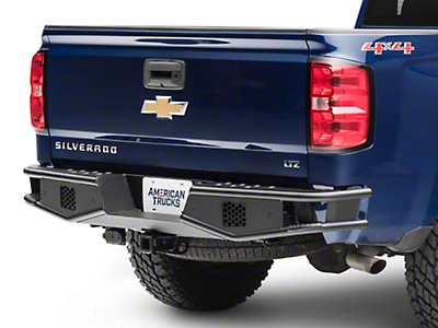 RedRock 4x4 Tubular Off-Road Rear Bumper (07-18 Silverado 1500)