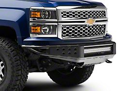 RedRock 4x4 Tubular Off-Road Front Bumper w/ 30 in. LED Light Bar (14-15 Silverado 1500)