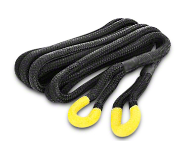 Smittybilt 1 in. x 30 in. Kinetic Recoil Recovery Rope - 30,000 lb.