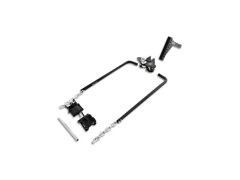 Smittybilt 2 in. Class II Receiver Weight Distributing Hitch (99-19 Silverado 1500)