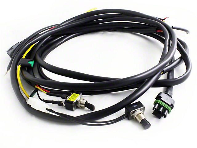 Baja Designs XL/OnX6 LED Light Wire Harness for 2 Lights