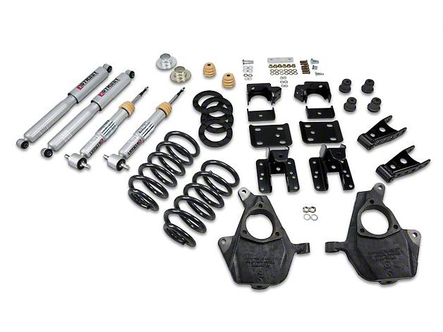 Belltech Lowering Kit - 3-4 in. Front / 5-6 in. Rear (07-13 2WD Silverado 1500 Regular Cab w/ Short Box)