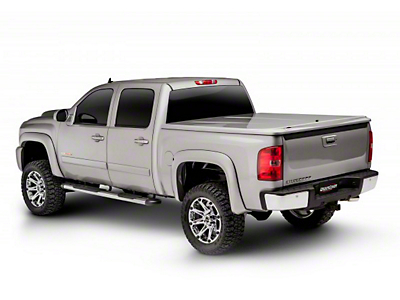 UnderCover LUX Hinged Tonneau Cover - Pre-Painted (14-18 Silverado 1500 w/ Short & Standard Box)