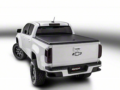 UnderCover RidgeLander Hinged Tonneau Cover - Black Textured (14-18 Silverado 1500 w/ Short Box)