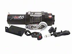 Smittybilt XRC 4 Comp 4,000 lb. Winch with Synthetic Rope (Universal; Some Adaptation May Be Required)