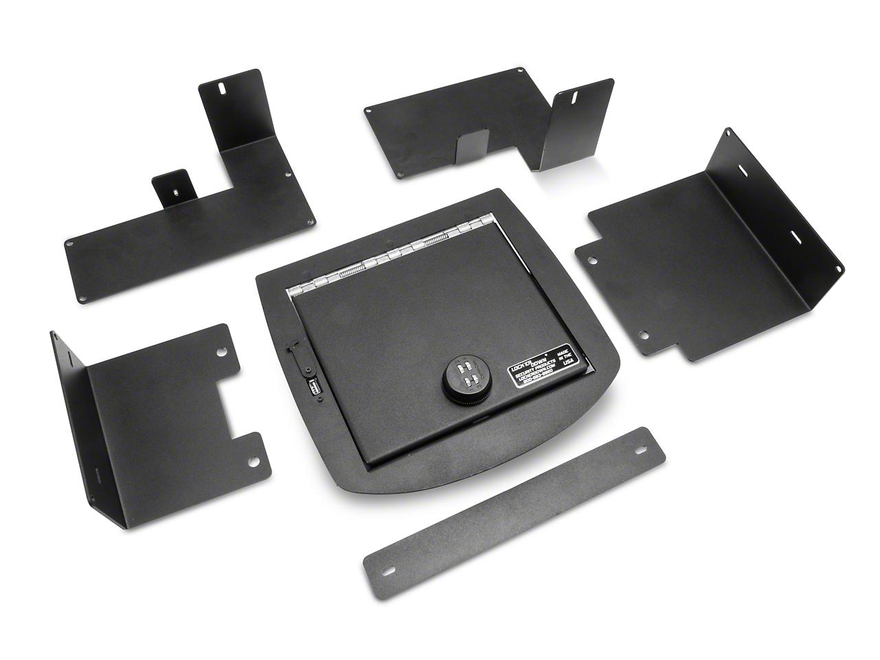 Lock'er Down Console Safe (07-13 Silverado 1500 w/ Bucket Seats)