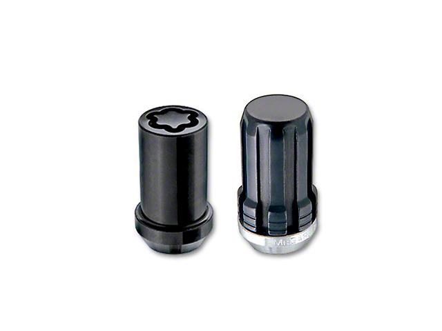McGard Black Spline Drive 6-Lug Wheel Installation Kit; 14mm x 1.5 (99-20 Silverado 1500)