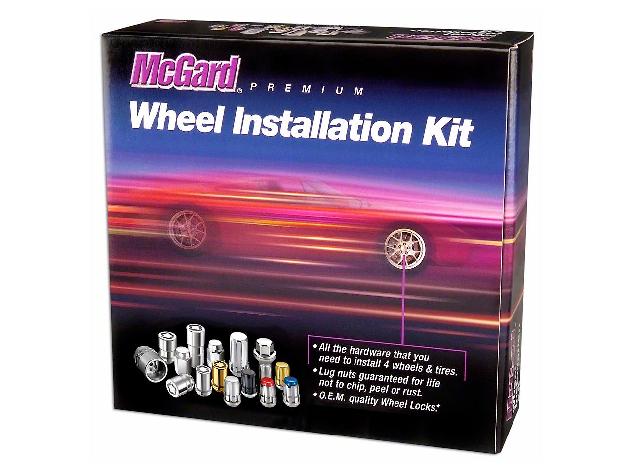McGard Gold SplineDrive 6-Lug Wheel Installation Kit - 14mm x 1.5 in. (99-18 Silverado 1500)