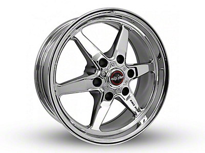 Race Star 93 Truck Star Chrome 6-Lug Wheel - 17x7 (99-18 Silverado 1500)