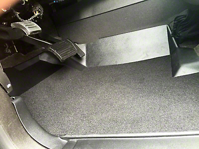 Weatherboots Classic Front Floor Liners - Black (07-13 Silverado 1500 Extended Cab, Crew Cab)