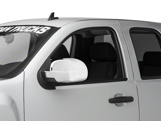 RedRock 4x4 Full Mirror Covers Chrome (07-13 Silverado 1500)