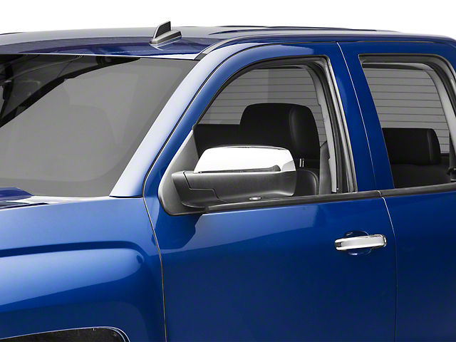 SpeedForm Chrome Top Half Mirror Covers (14-18 Silverado 1500)