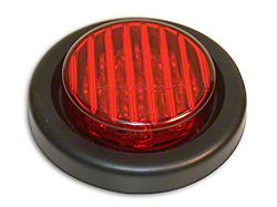 Delta 2.75-Inch Round Clearance Light; Red (Universal; Some Adaptation May Be Required)