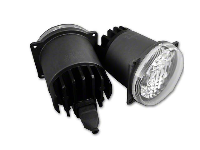 Delta 3-Inch 30H Series Round Flush Mount LED Light; Fog Beam