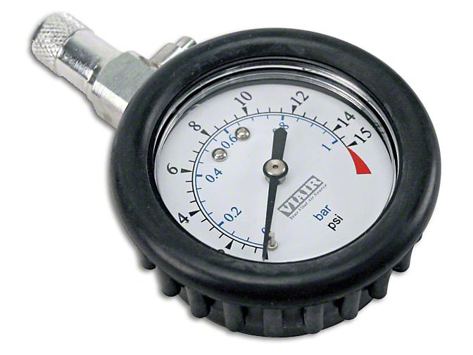 Viair 1.5 in. Tire Gauge - 0-100 PSI