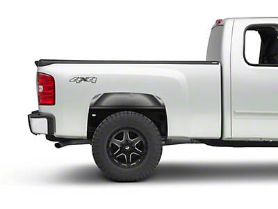 Bushwacker Smoothback Ultimate BedRail Cap - Matte Black (07-13 Silverado 1500)