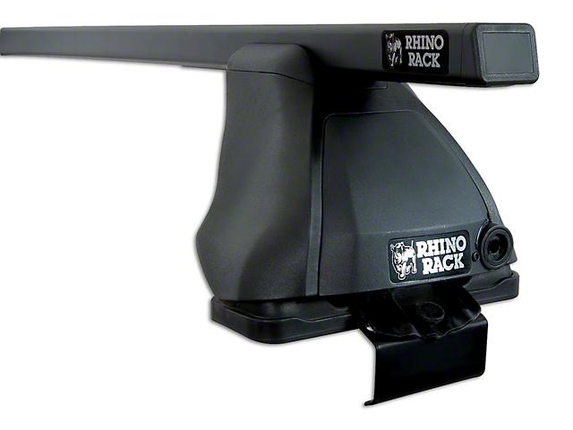 Rhino-Rack Euro 2500 2-Bar Roof Rack - Black (07-13 Silverado 1500 Extended Cab, Crew Cab)