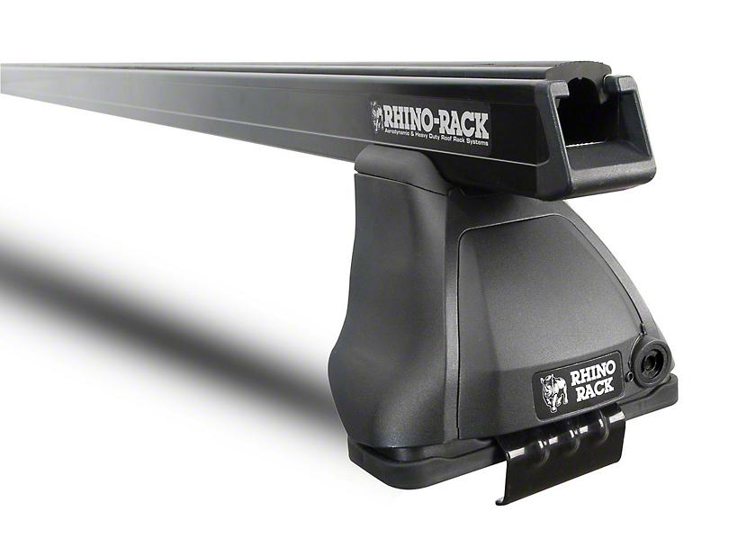 Rhino-Rack Heavy Duty 2500 1-Bar Roof Rack - Black (14-18 Silverado 1500 Double Cab, Crew Cab)