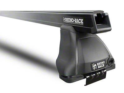 Rhino-Rack Heavy Duty 2500 1-Bar Roof Rack - Black (14-18 Silverado 1500 Double Cab, Crew Cab)