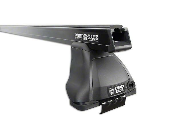 Rhino-Rack Heavy Duty 2500 2-Bar Roof Rack - Black (07-13 Silverado 1500 Extended Cab, Crew Cab)