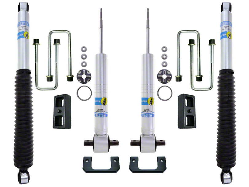 Excel Suspension 0-2.5 in. Front / 1 in. Rear Suspension System w/ Bilstein Shocks (14-18 Silverado 1500)