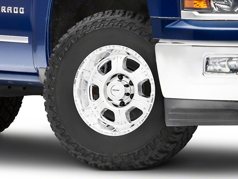 Pro Comp Wheels Series 1089 Polished 6-Lug Wheel - 17x8; 0mm Offset (99-19 Silverado 1500)