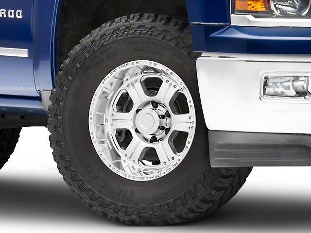 Pro Comp Wheels Series 1089 Polished 6-Lug Wheel - 17x9 -06mm Offset (99-19 Silverado 1500)