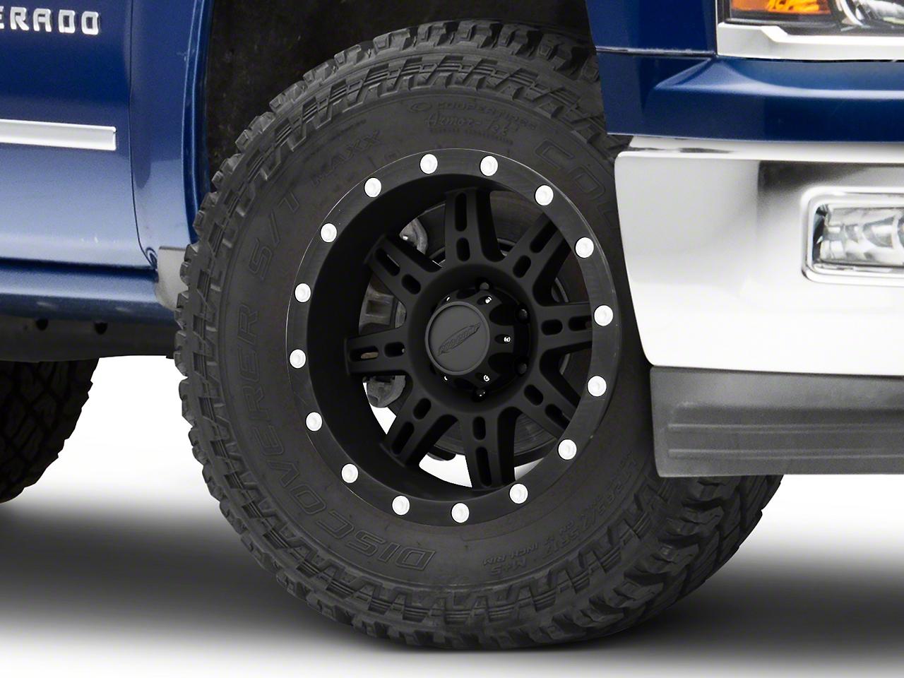 Pro Comp Series 7031 Matte Black 6-Lug Wheel - 18x9 (99-18 Silverado 1500)