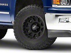 Pro Comp Wheels 32 Series Matte Black 6-Lug Wheel; 17x9; -6mm Offset (14-18 Silverado 1500)