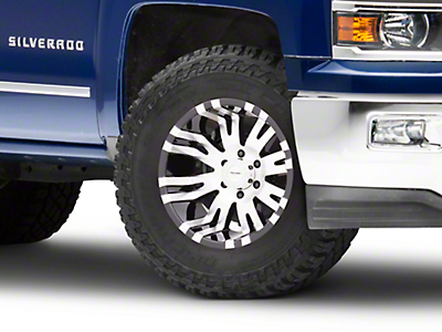 Pro Comp Series 8101 Gloss Black Machined 6-Lug Wheel - 18x9.5 (99-18 Silverado 1500)