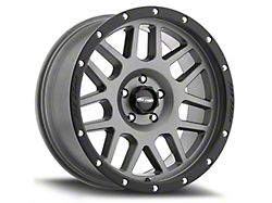 Pro Comp Wheels Vertigo Matte Graphite 6-Lug Wheel; 17x9; -6mm Offset (19-22 Silverado 1500)
