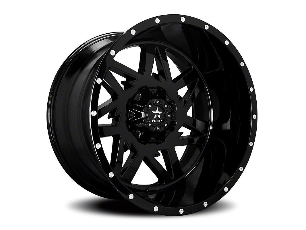 RBP 71R Avenger Gloss Black 6-Lug Wheel - 24x14 (99-18 Silverado 1500)