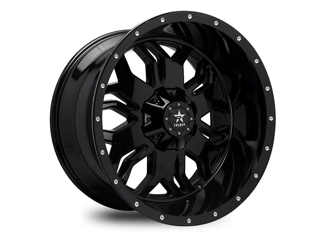 RBP 87R Blade Gloss Black 6-Lug Wheel - 20x12 (99-18 Silverado 1500)