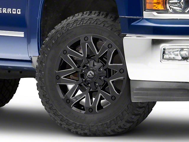 Fuel Wheels Ambush Gloss Black Milled 6-Lug Wheel - 20x10 (99-19 Silverado 1500)